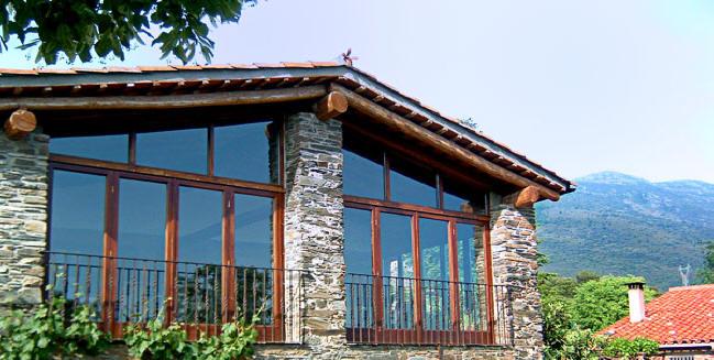 La sala for Casa rural montseny